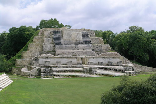 Ancient Mayan Ruins Belize