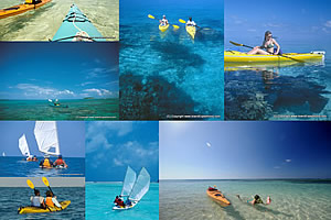 belize sea kayaking photos