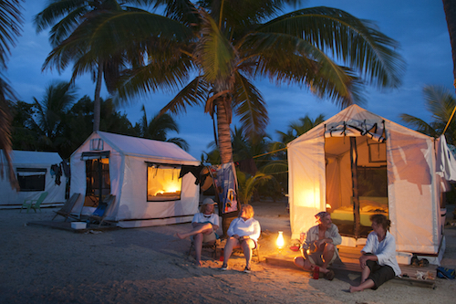 Lighthouse Reef Basecamp on Half Moon Caye Belize