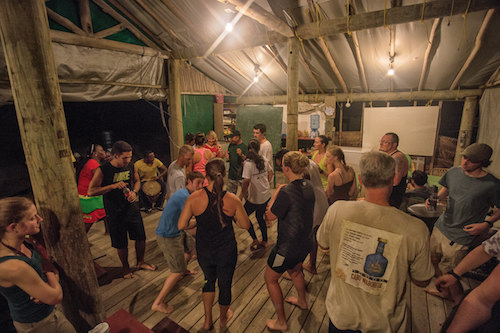 Cultural Night at Lighthouse Reef Basecamp, Belize