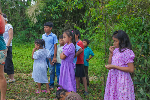 Children in Santa Teresa