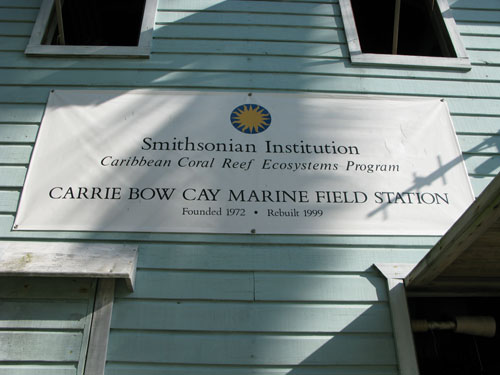 Carrie Bow Cay Field Station