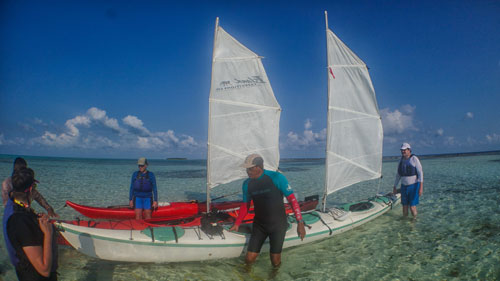 sea kayak gear Belize