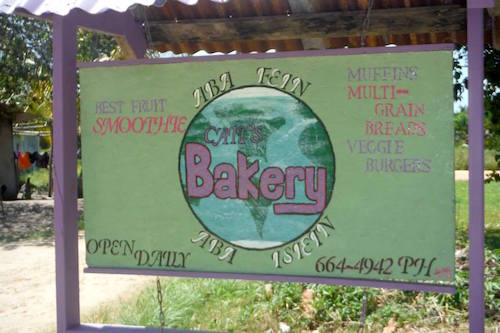 Caitlin's Bakery in Hopkins, Belize