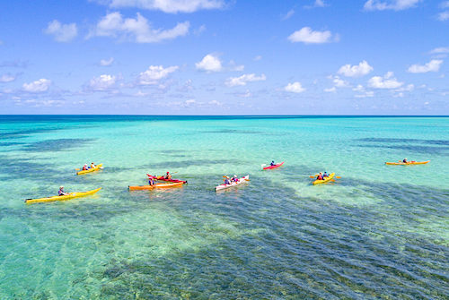 Ideal weather to explore the Belize Barrier Reef