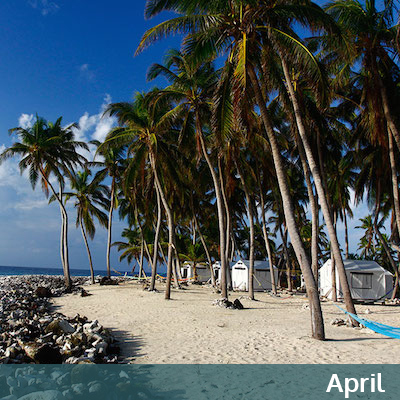 April in Belize
