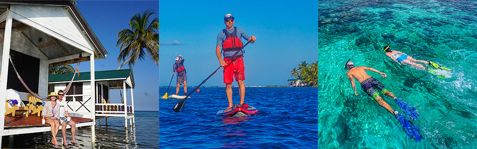 Coral Islands SUP Trip Belize