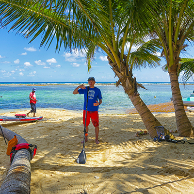 Norm Hann Coral Islands SUP Trip