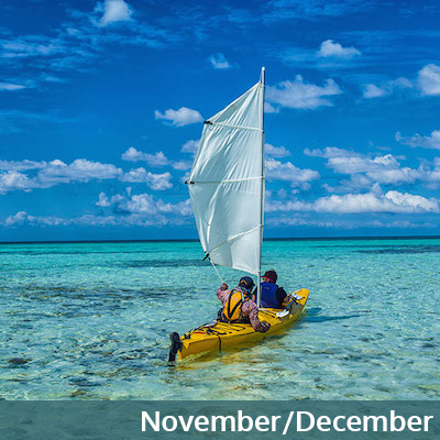 November and December in Belize