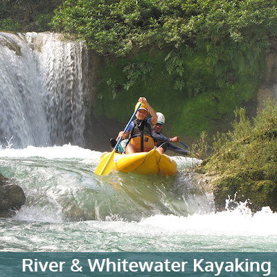 River and Whitewater Kayak in Belize