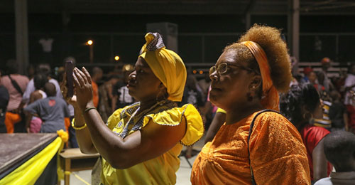 Traditional Garifuna Dancing