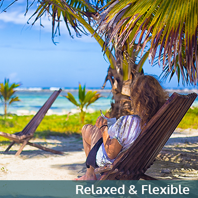 Relaxed and flexible travel Belize