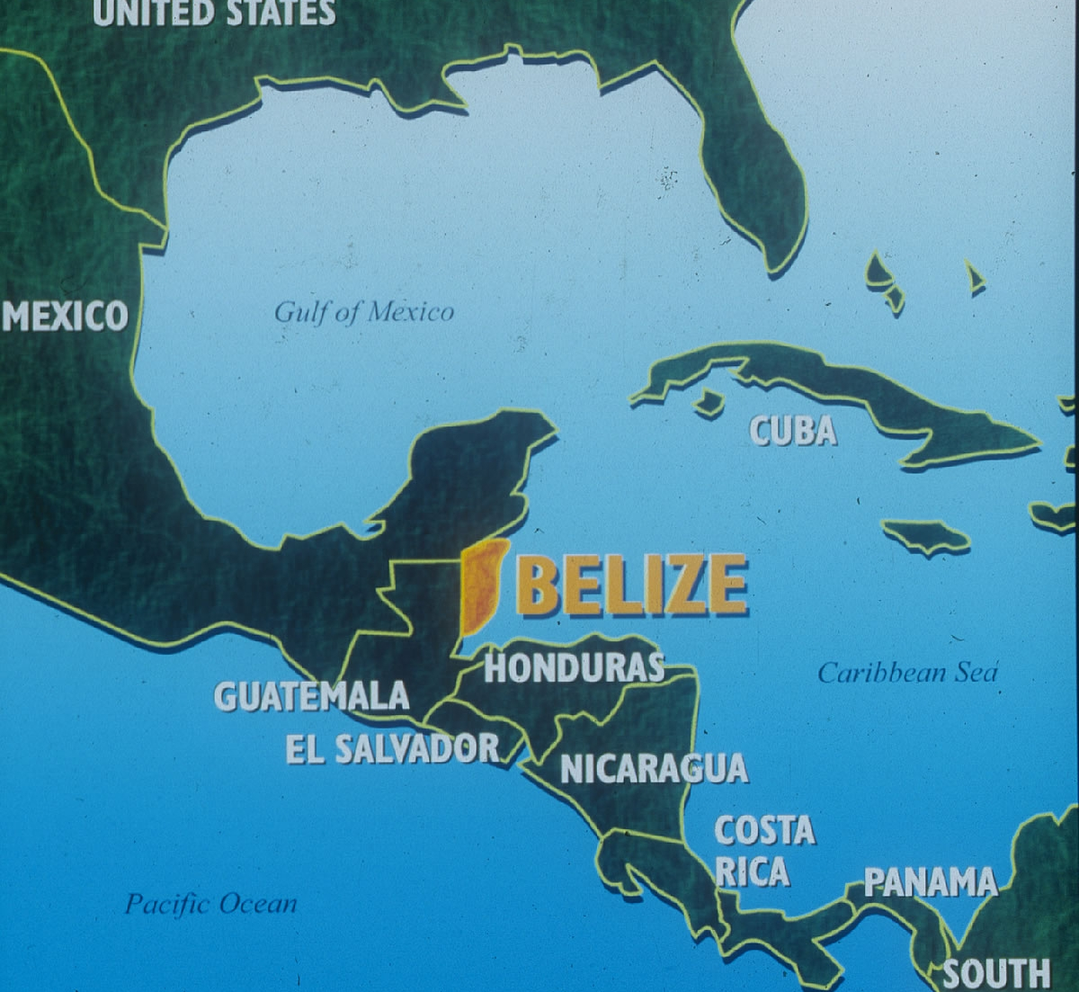 Map of Belize - Where is Belize?