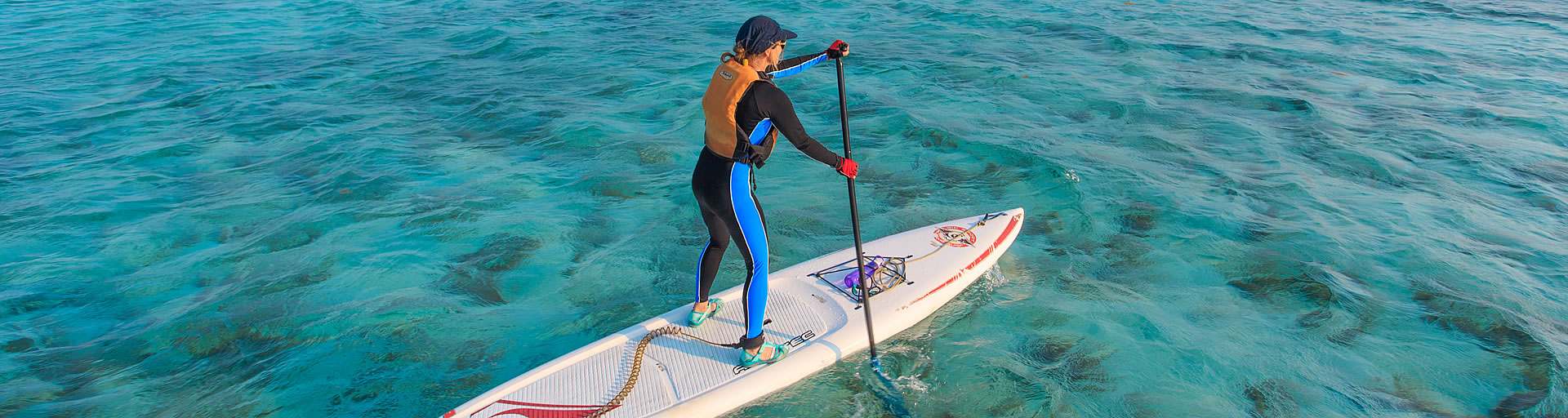 Stand Up Paddleboard (SUP) in Belize