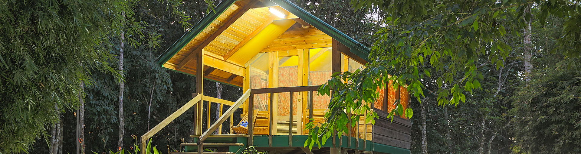 TEC Belize Zoo Forest Cabanas