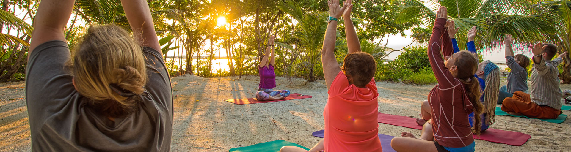 Yoga By the Sea in Belize