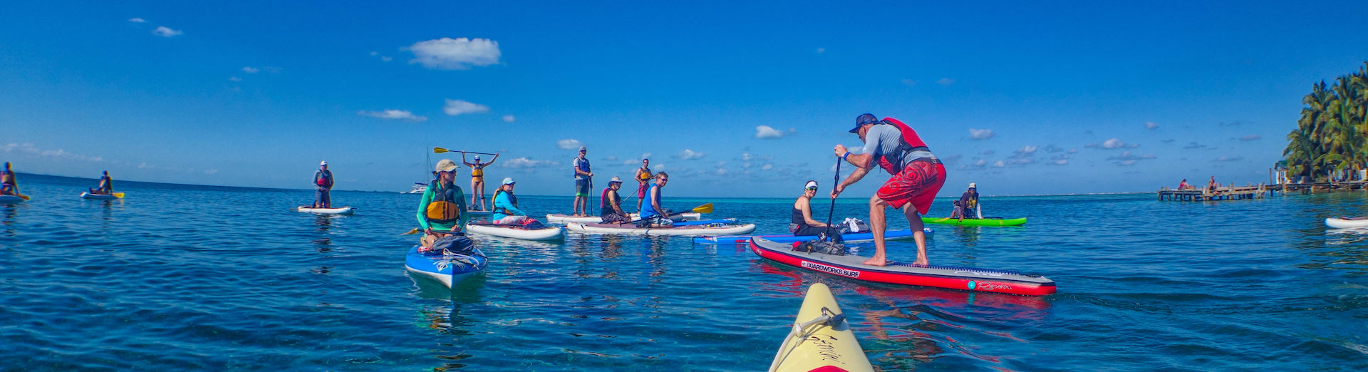 Coral Islands SUP Trip with Norm Hann