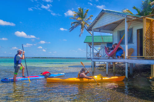 Tobacco Caye Paradise Cabins