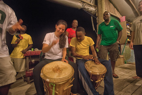 Traditional Garifuna Drumming