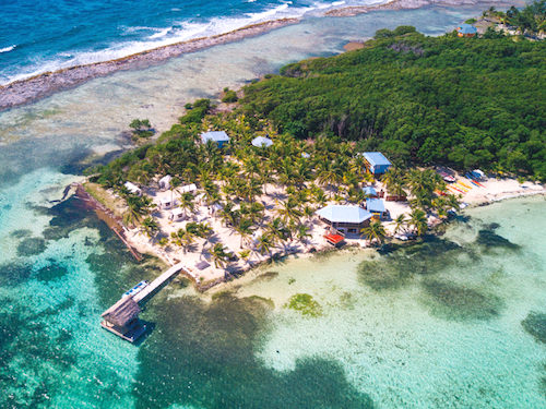 Glovers Reef Basecamp on Southwest Caye, Belize