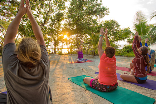 Yoga At Glovers Reef