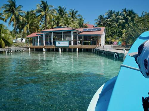Arrival at the Lodge at Southwater Caye