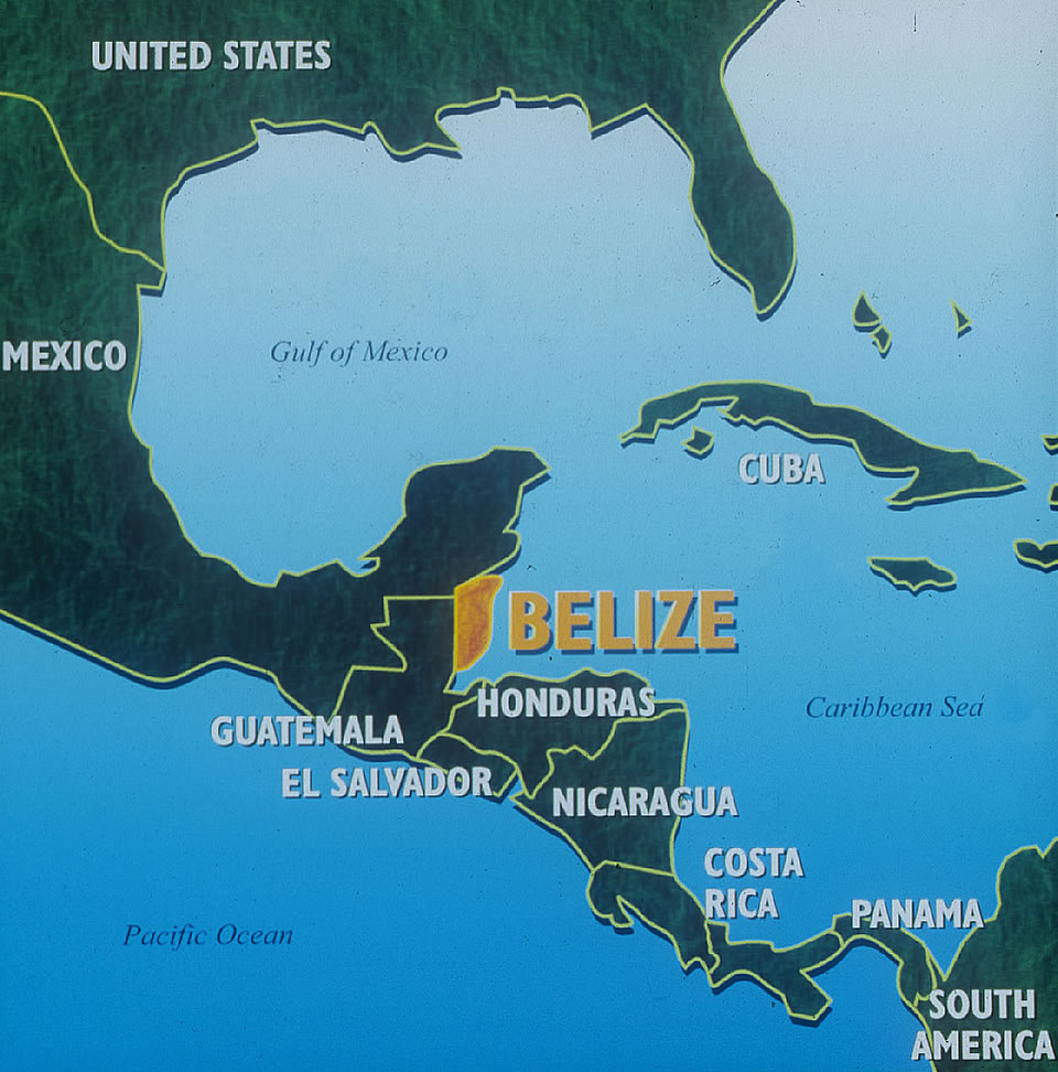 Belize Map Where is Belize