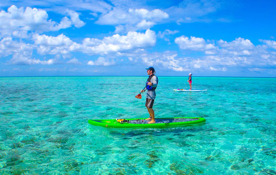 Coral Islands SUP