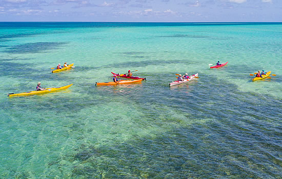 Glover's Reef Kayaking
