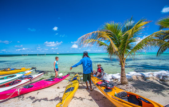 Glovers Reef Kayak Rental Combo