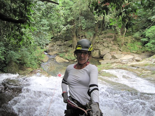 Experience a Belize Waterfall Rappelling Adventure