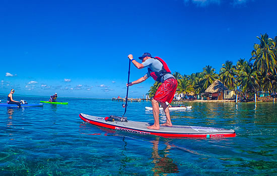 Coral Islands SUP Norm Hann Sessions