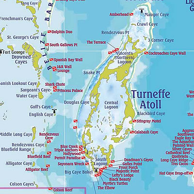 Turneffe Islands Dive Sites