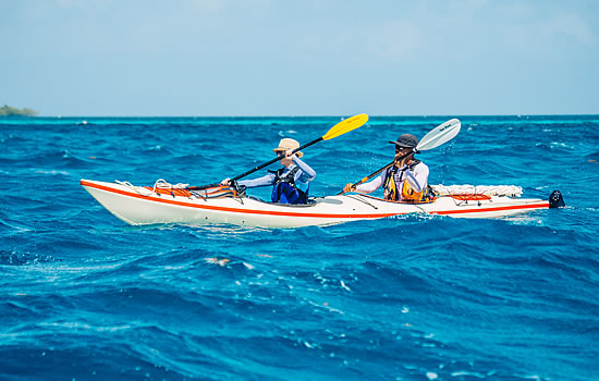 Double Sea Kayak in Belize