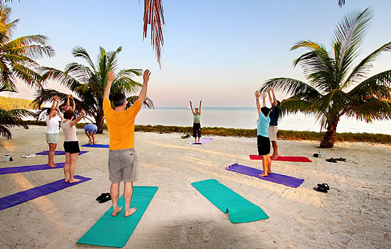 yoga on the islands