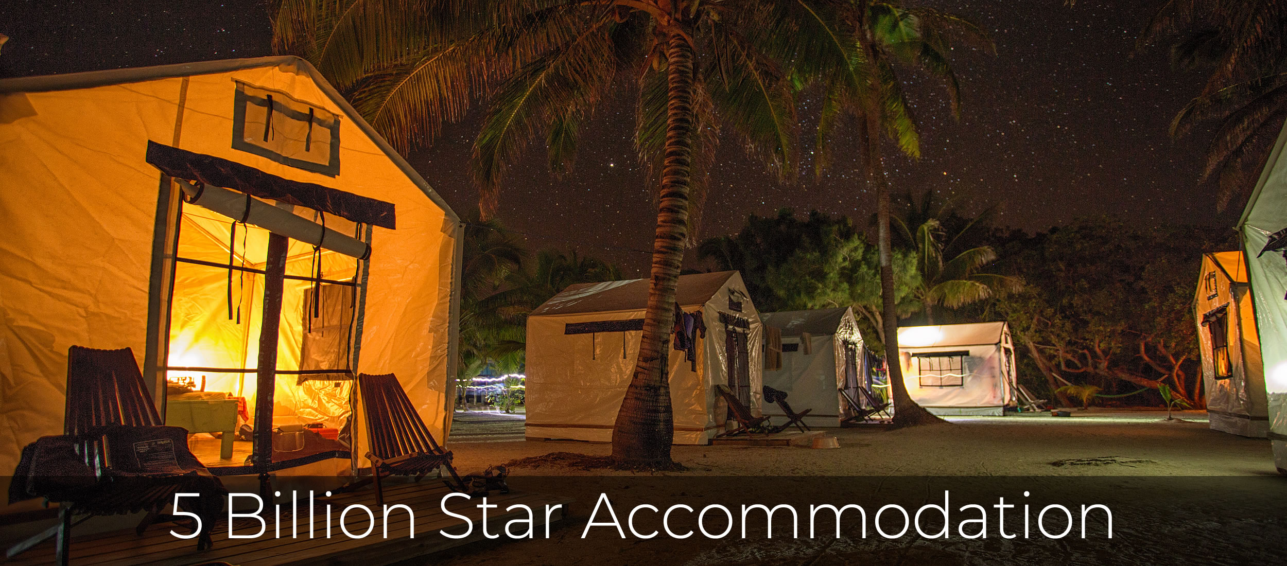5 Billion Star Accommodation
