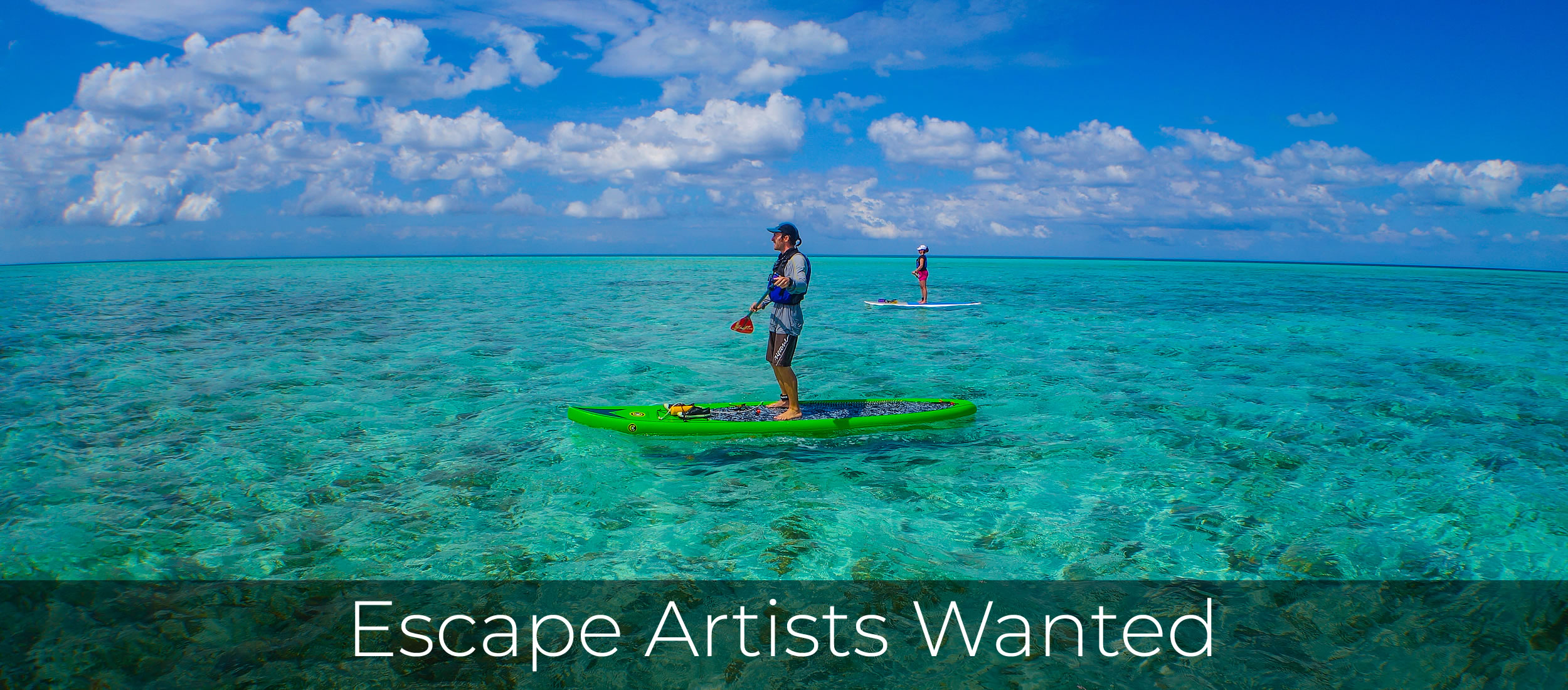 Escape Artists Wanted