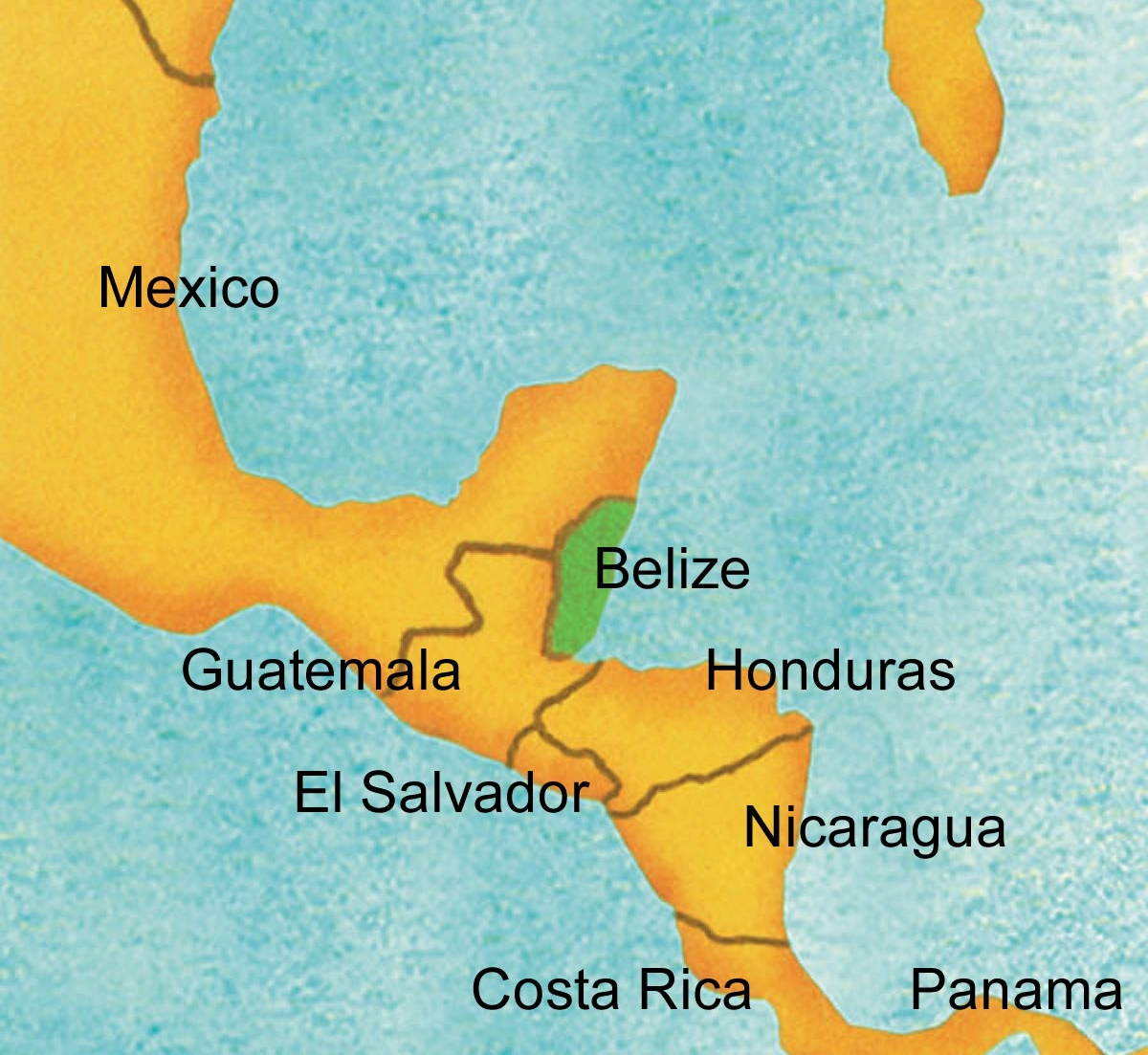 Rising Waters >> Detailed Maps of Belize | Island Expeditions