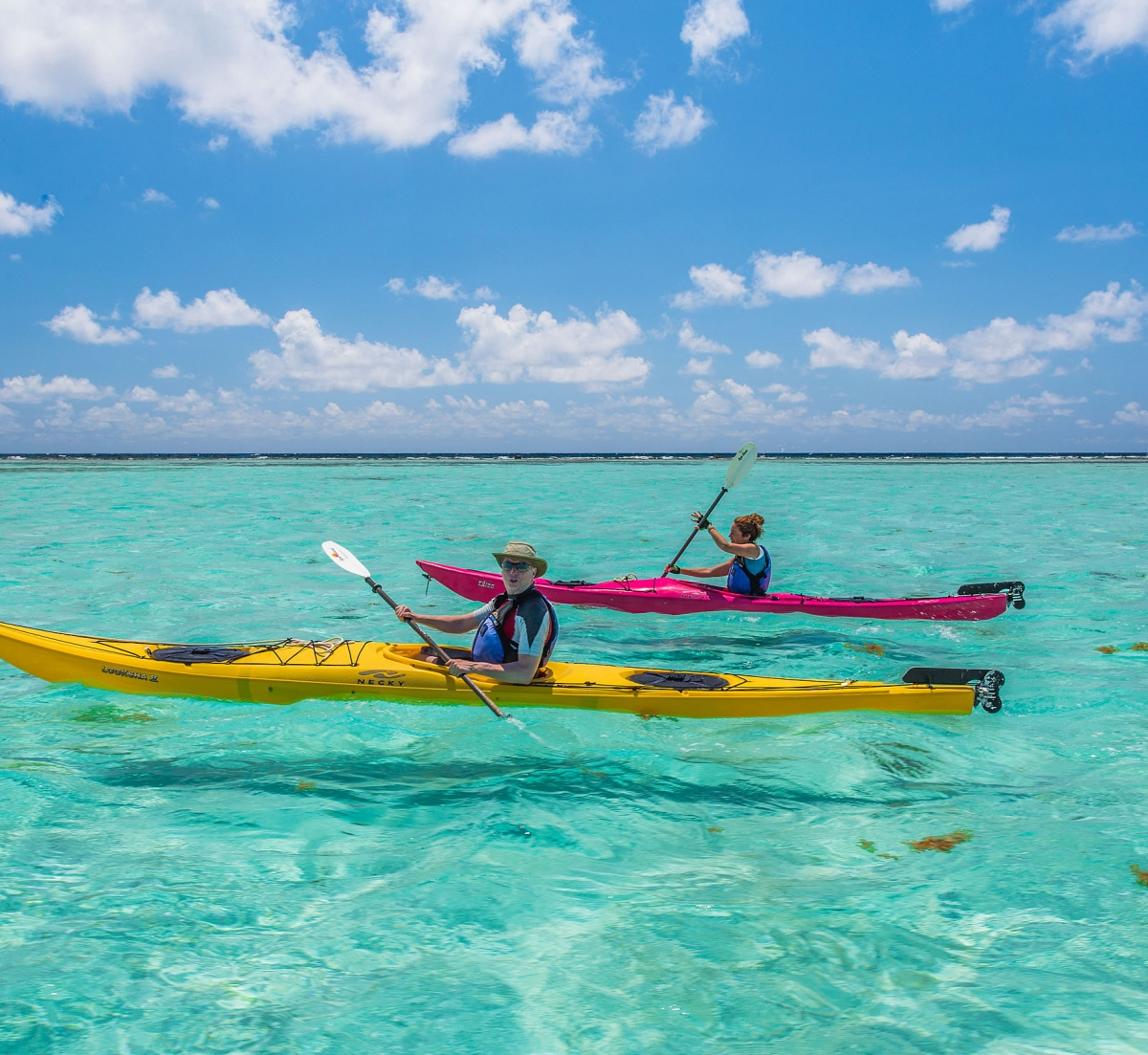 Sea Kayak the Belize Barrier Reef