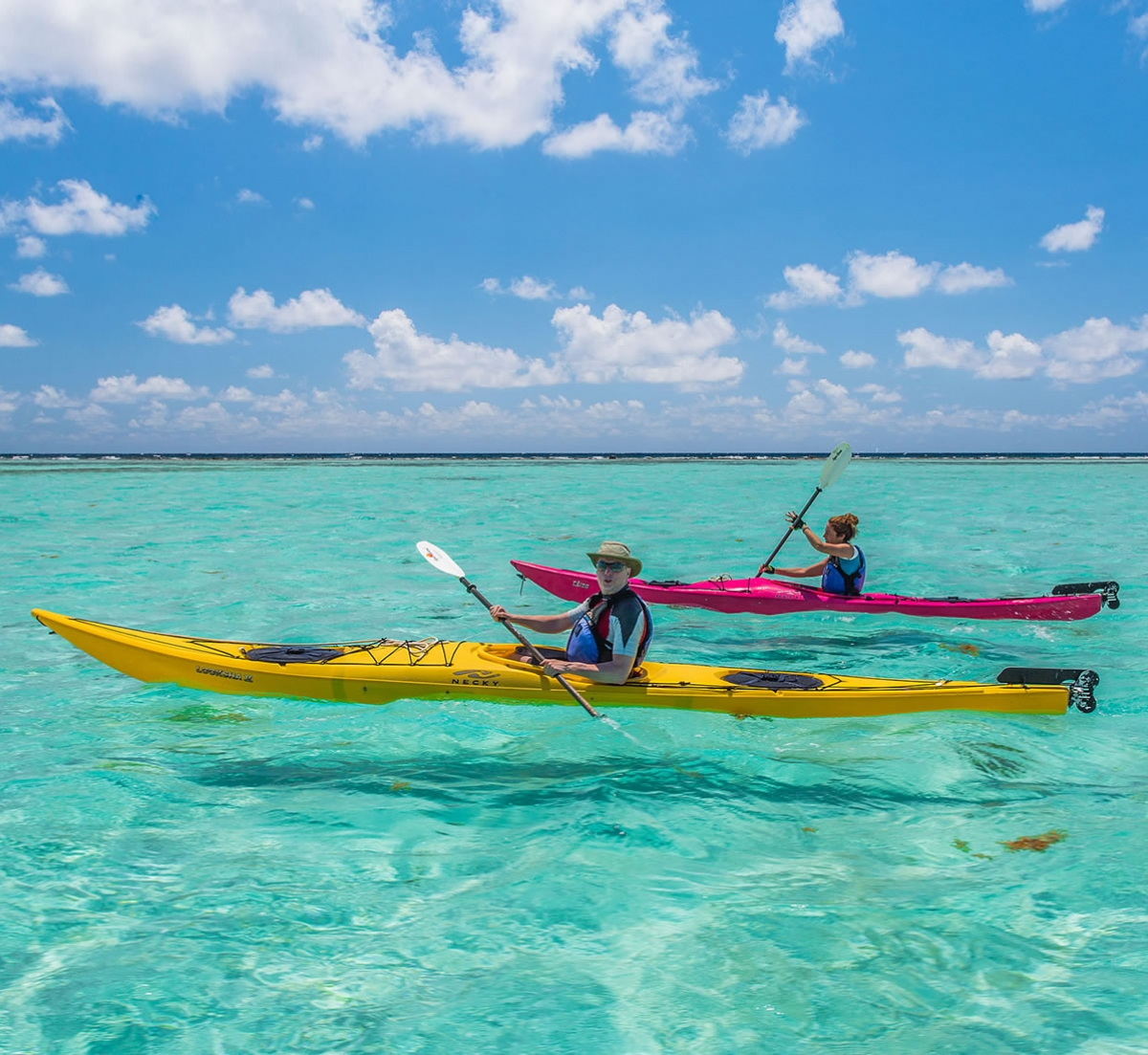 Sea Kayaking the Belize Barrier Reef