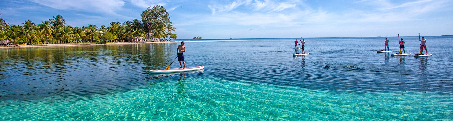 Coral Islands Stand Up Paddleboard (SUP) Belize