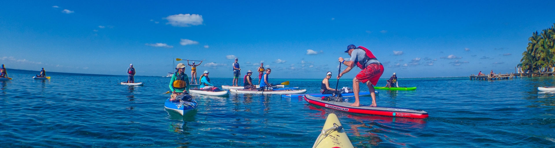 Coral Islands SUP with Norm Hann