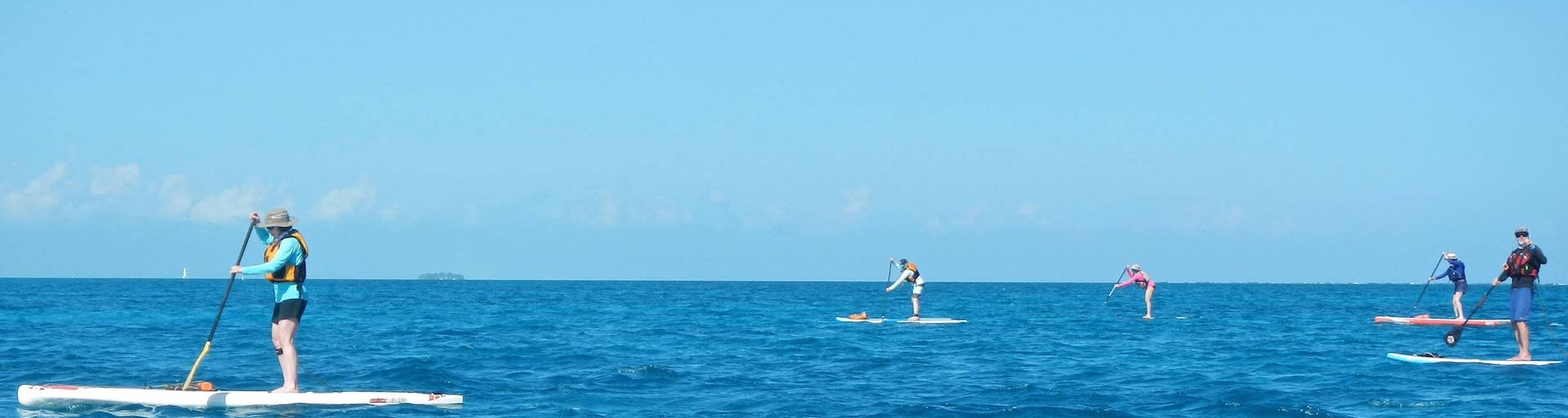 Coral Islands SUP Trip
