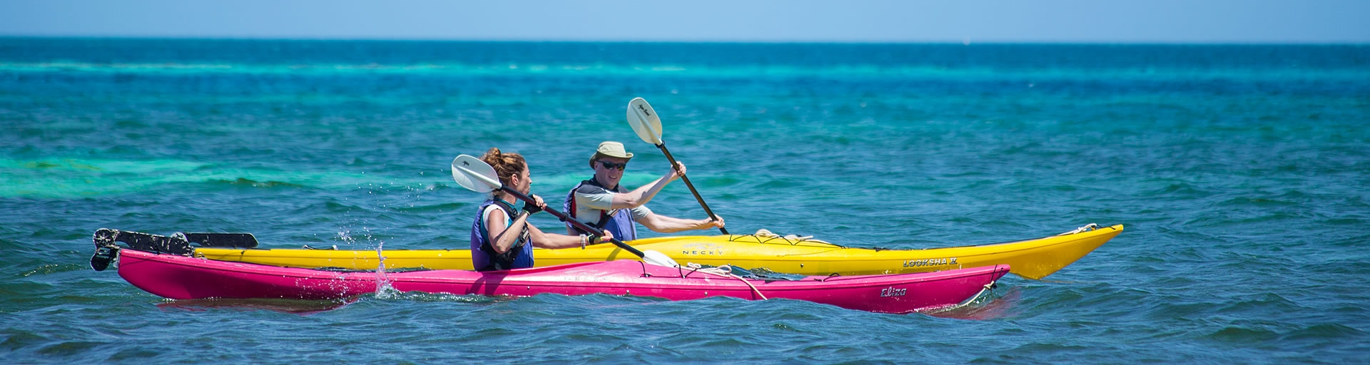 Sea Kayaking Belize