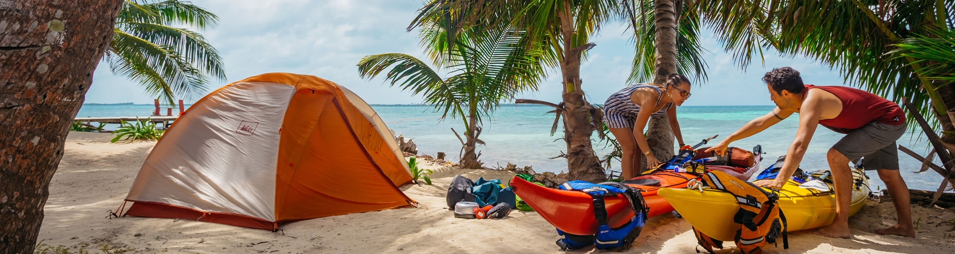 Sea Kayak Camping in Belize