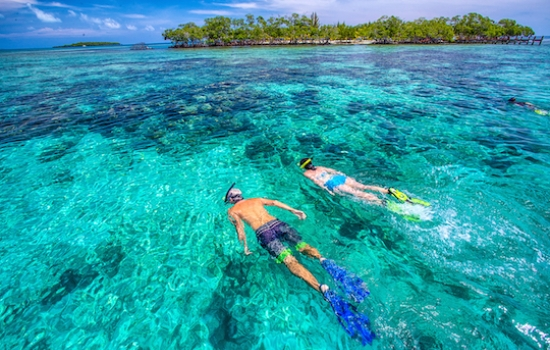 Snorkeling Southwater Caye