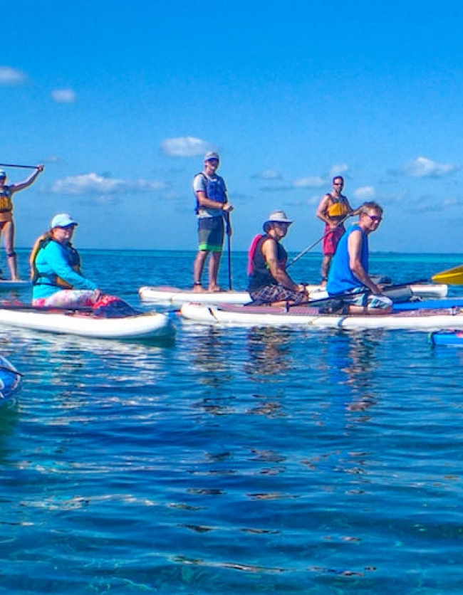 Glover's SUP Adventure and Skills Camp with Norm Hann
