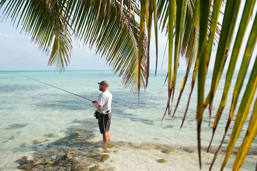 Fly Fishing at Glover's Reef
