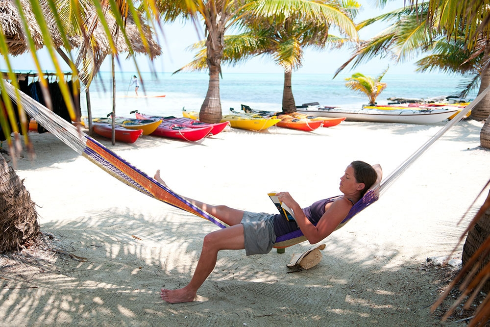 Hammock Time at the Glover's Reef Basecamp