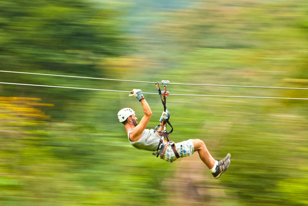 Zipline at Bocawina Rainforest Resort